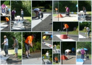 Collage Minigolf