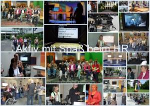 AKTIV mit Spaß Hessischer Rundfunk Juni 2012 Collage