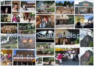 Elspe Karl Mey Festspiele 21.08 Collage