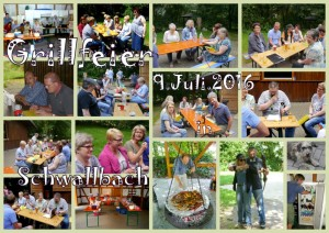 collage Grillren